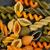brut · pâtes · blé · cadre · haut · vue - photo stock © tab62