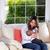 anne · bebek · şişe · yetişkin · kadın · beyaz - stok fotoğraf © tab62