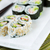 plate filled with sushi rolls stock photo © tab62