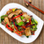 spicy bacon and beef dish ready to eat stock photo © tab62