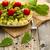 makarna · kiraz · domates · pesto · kırmızı · biber · otlar · tablo - stok fotoğraf © tab62
