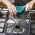 abajo · estufa · superior · limpieza · manos - foto stock © tab62