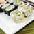 fresh sushi california roll stock photo © tab62