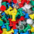 filled frame of thumbtacks in different colors stock photo © tab62