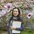 アジア · 女性 · 桜 · ツリー · 頭 · 肩 - ストックフォト © tab62