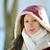 красивой · зима · пальто · портрет - Сток-фото © taden