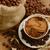 tasse · de · café · grains · de · café · café · noir · sombre · déjeuner - photo stock © taden