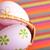 gyönyörű · mintázott · húsvéti · tojások · színes · fészek · terv - stock fotó © taden