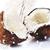 ひびの入った · ココナッツ · スプラッシュ · ビッグ · 食品 · 夏 - ストックフォト © taden