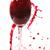 vino · rosso · vetro · uva · isolato · bianco - foto d'archivio © taden