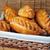 kolbászok · sütemény · reggeli · szelektív · fókusz · kenyér · vacsora - stock fotó © taden