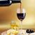 rode · wijn · wijnglas · kaas · olijven · wijn · keuken - stockfoto © taden