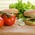 gustoso · hamburger · appetitoso · legno · piatto · pane - foto d'archivio © taden