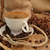 kávé · csésze · pörkölt · fa · kávé · háttér - stock fotó © taden