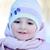 mutlu · küçük · kız · kış · portre · bebek · eğlence - stok fotoğraf © taden