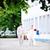 vrouw · trouwjurk · koffer · bruiloft · gelukkig · schoonheid - stockfoto © taden