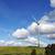 pola · Błękitne · niebo · niebo · słońce · zielone - zdjęcia stock © taden
