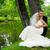 gelin · damat · portre · poz · düğün - stok fotoğraf © taden