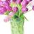 zöld · virágok · váza · víz · tulipán · üveg - stock fotó © taden