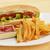 孤立した · ホットドッグ · ディナー · サンドイッチ · バーベキュー · 食事 - ストックフォト © taden