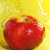 apple and water splashes stock photo © taden
