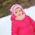 little girl in winter parka stock photo © taden