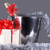 クリスマス · シンボル · バケット · シャンパン · ボトル · 花輪 - ストックフォト © taden