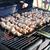 hús · szeletek · előkészítés · mártás · tűz · étel - stock fotó © taden