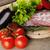 carne · legumes · comida · vermelho - foto stock © taden