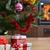 bianco · rosso · Natale · camino · interni · stile · moderno - foto d'archivio © taden