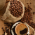 coffee beans and cupcoffee beans and cup stock photo © taden