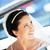 retrato · hermosa · jóvenes · novia · espera · coche - foto stock © taden