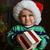baby · Święty · mikołaj · cap · obraz · odizolowany · słodkie - zdjęcia stock © taden