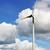シルエット · 風力タービン · 電気 · 日没 · 空 · 技術 - ストックフォト © taden