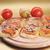 três · pequeno · comida · pizza · jantar - foto stock © taden