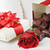 chocolates and rose stock photo © taden