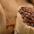 grãos · de · café · saco · madeira · fundo - foto stock © taden