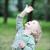 女の子 · 演奏 · 公園 · 春 · 赤ちゃん · 緑 - ストックフォト © taden