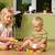 nino · hermana · pequeño · jugando · casa · familia - foto stock © taden