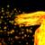 dansen · brand · meisje · partij · dans · rook - stockfoto © taden