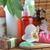 cosmetics for body on straw napkin stock photo © taden