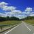 út · erdő · tájkép · égbolt · autó · fű - stock fotó © taden