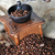 kahve · öğütücü · bağbozumu · tablo · üst - stok fotoğraf © taden