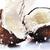 треснувший · кокосового · большой · всплеск · продовольствие - Сток-фото © taden