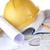 желтый · шлема · куча · проект · бизнеса - Сток-фото © taden