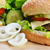 saboroso · hambúrguer · apetitoso · prato · pão - foto stock © taden