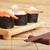 fából · készült · evőpálcikák · wasabi · izolált · fehér · étel - stock fotó © taden