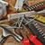 diverso · strumenti · set · legno · abstract · sfondo - foto d'archivio © taden