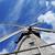 verouderd · windmolen · hemel · reizen · eiland · vakantie - stockfoto © taden