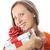 kadın · hediye · atış · genç · kafkas - stok fotoğraf © taden